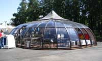 Светопрозрачный павильон