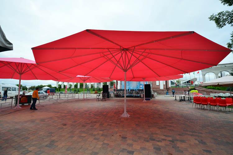 Зонт диаметром 10 метров