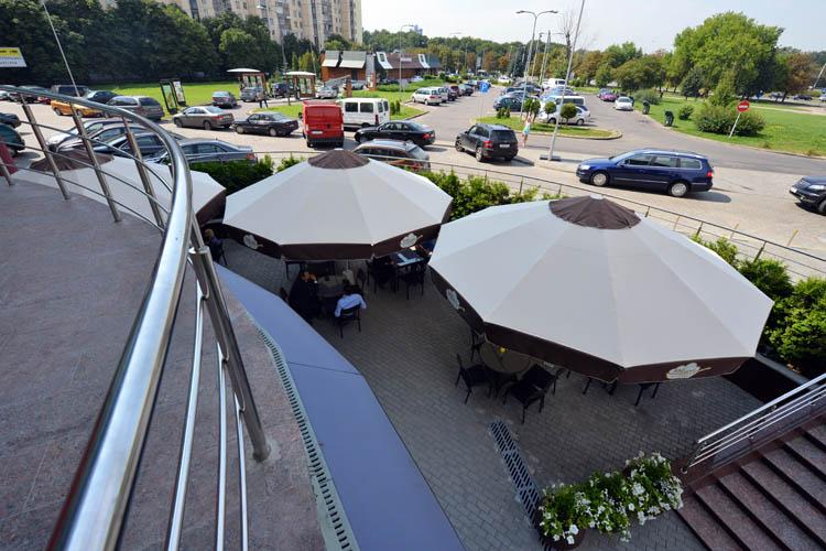 Зонт диаметром 5 метров