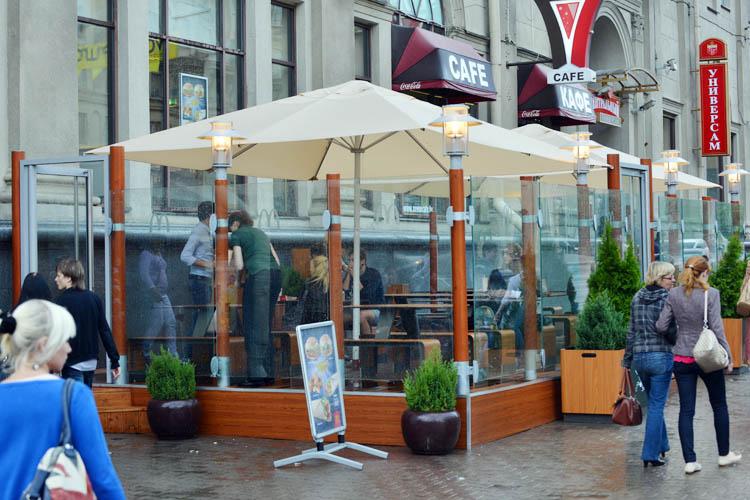 Зонт 4х4 метра